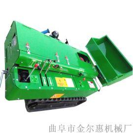 柴油动力自走式旋耕机/玉米地施肥用的开沟机