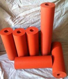 烫金硅橡胶辊热转印胶轮耐高温38*100mm