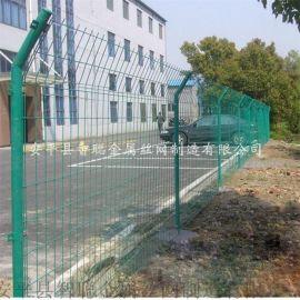 双边丝型护栏网 双边丝折弯护栏网 圈地双边丝护网