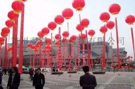 郑州大型庆典活动升空大气球条幅充气拱门