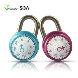 铠盾锁爱 密码挂锁 箱包挂锁 旅行包挂锁