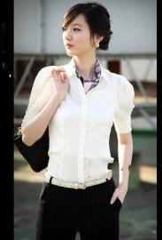 韩版职业装定做 职业装女衬衫定做