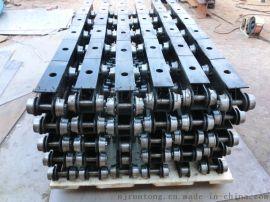 大节距碳钢带导轮非标链条厂家直销