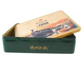 山东德州润丰供应精美马口铁铁盒 食品礼盒 铁罐包装