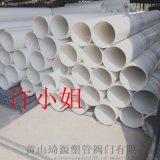 UPVC管规格UPVC管生产厂家UPVC大口径排污管400mmSN4(4KPA)