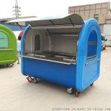 城镇街道景区多功能房型早餐车 流动美食小吃饮料售货车 加盟定做