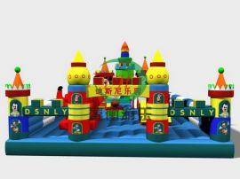 PVC儿童充气蹦蹦床 3岁以上宝宝冲气城堡 新款跳跳床厂家订做直销