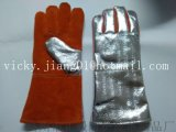 14''鋁箔耐高溫防輻射電焊手套