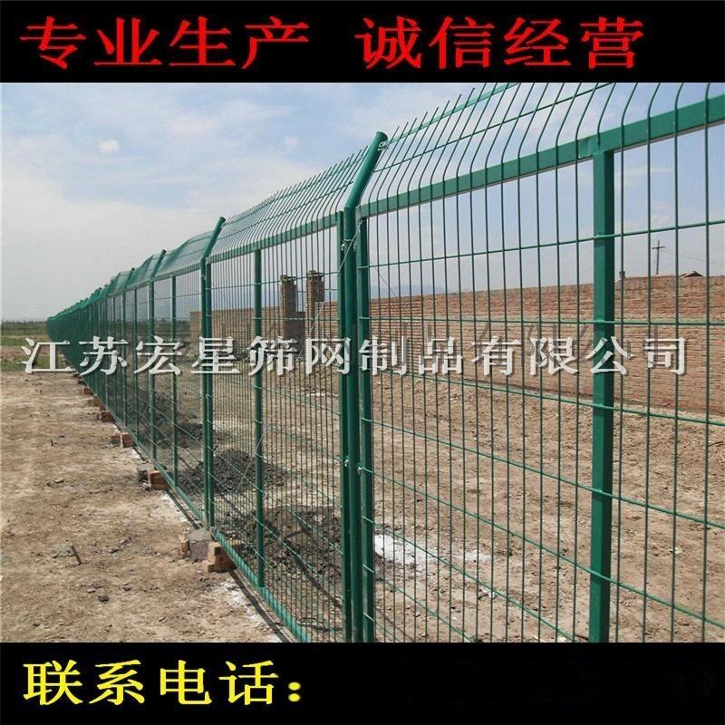 厂家生产 框架护栏网 铁丝防护网 高速路护栏 行业领先