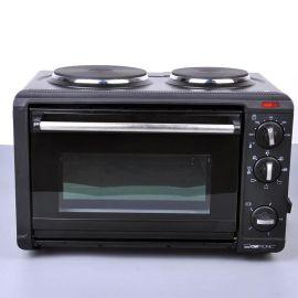【德国原单】CLATRONIC{克拉车妮} 烤箱(1个烤箱+2个电陶炉)