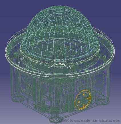 光学设计:LED魔球灯、圣诞投影灯