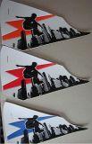 絲印鞋飾片