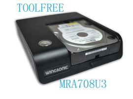 MRA708U3 2.5+3.5寸外接硬盘盒
