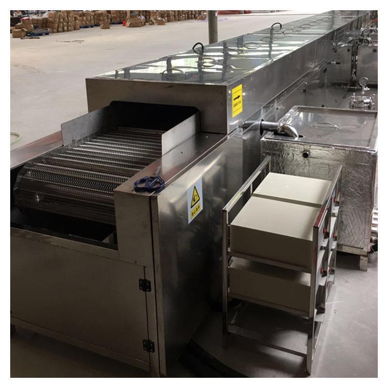 自动通过式超声波清洗机,喷淋烘干通过式超声波清洗机