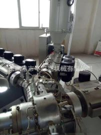 PP/PERT/PE/PPRφ16-φ110mm管材生产线(带收卷机) 塑料管材设备