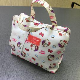 韩版多功能便携尼龙旅行收纳包妈咪化妆包收纳袋 女士手提洗漱包