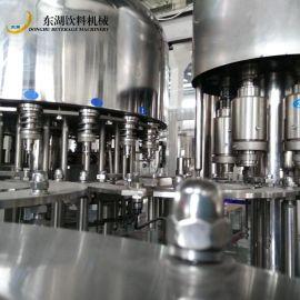 全自动茶饮料灌装机 功能性饮料三合一灌装机设备 冷成型饮料机械