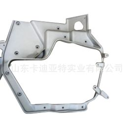 豪沃A7配件前大灯铝支架 AZ9925720001 豪沃A7驾驶室配件