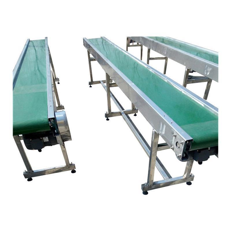 土方装车爬坡输送机 长距离皮带机设备齐全qc