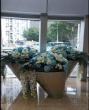 供應不鏽鋼大花盆 組合式不鏽鋼大花器 花鉢 花箱