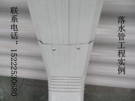 天津胜博供应108*144型厂房彩钢落水管