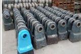 廠家供應各種材質合金鋼破碎機錘頭