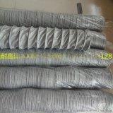 高溫鍋爐熾熱氣抽排風管玻纖布伸縮風管高溫夾布風管