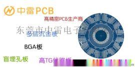 什么叫BGA线路板 盲埋孔PCB  中雷电子厂家