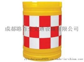 防撞桶分流桶安全防撞桶塑料道路交通桶隔离道路 示桶