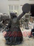革命人物铜雕塑厂家 绿地人雕像 欧式工艺品