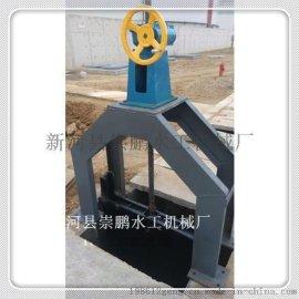 烟台机闸一体式钢闸门,铸铁闸门,崇鹏铸铁镶铜闸门