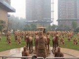 秦朝皇陵兵马俑巡展出租出售兵马俑租售陶俑制作厂家