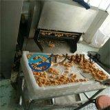 雞排油炸生產線@諸城有爲雞排裹粉油炸線