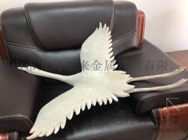 304不锈钢群鹤雕塑艺术金属造型件