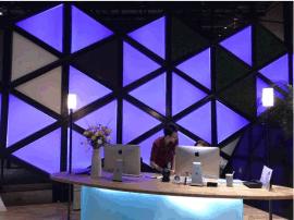 背光源LED背光板大尺寸RGB三色导光板带控制器七彩背景墙