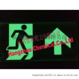 供应夜光紧急出口标志牌,发光消防警示标志