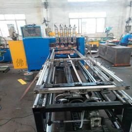 不锈钢护栏网全自动排焊机 搁物架层架龙门排焊机