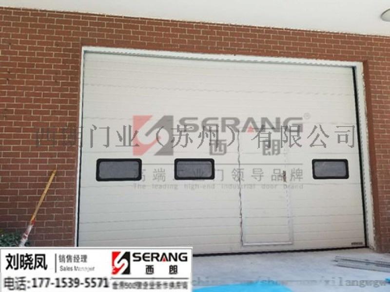 杭州西朗钢结构厂房提升门