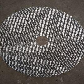 304不锈钢冲孔板 筛网 圆孔通风散热筛板
