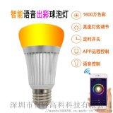 RGB智能情景球泡灯/自由调光调色亮度调节/对接亚马逊ALEXA语音控制