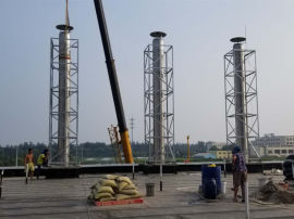 不锈钢烟囱,锅炉不锈钢烟囱,柴油发电机烟囱