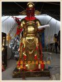 文判官武判官神像,玻璃鋼黑白無常神像生產雕塑廠家