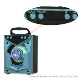 车载无线蓝牙音箱 便携式插卡收音机收款音响