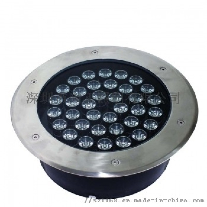 圆形不锈钢地埋灯 户外广场嵌入式LED地埋灯