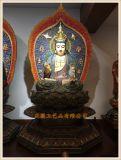 溫州銅雕西方三聖廠家,銅雕佛像,正圓鑄銅佛像廠家