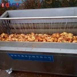 鑫富供应 红薯去皮毛辊清洗机 蔬菜毛辊去皮清洗机