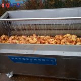 鑫富供應 紅薯去皮毛輥清洗機 蔬菜毛輥去皮清洗機