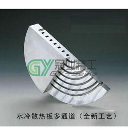 真空釺焊水冷板不鏽鋼連接器模具水冷板散熱器焊接