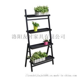 洛阳友时北欧风室内花架多肉植物放置架阳台花架