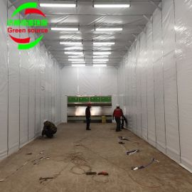 厂家定做伸缩房 伸缩喷漆房 环保移动喷漆房